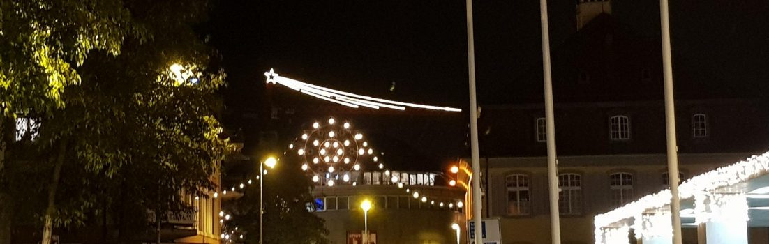Weihnachtsbeleuchtung in Brugg