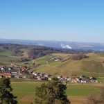 Mandach, Leibstadt, Südschwarzwald (ohne Saharastaub)