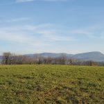 der östlichste Teil des Juraparks, von Norden gesehen