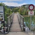 Spannbandbrücke über die Aare