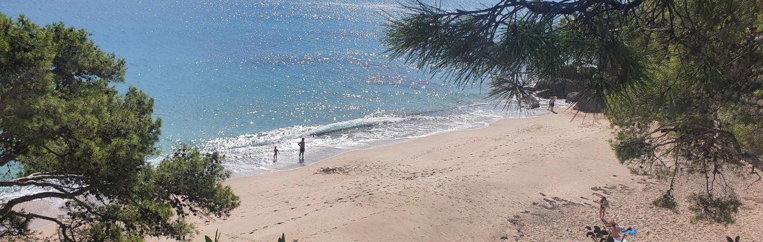 Sandstrand in Miami Platja